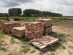 Piles de briques