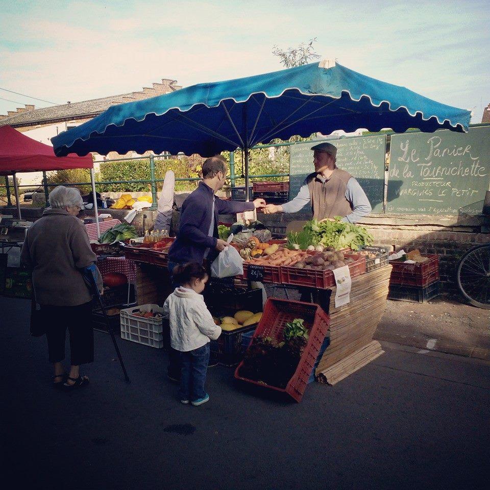 Notre stand à la fête de la pomme 2014