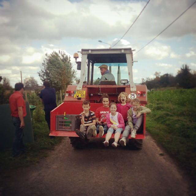 Un p'tit tour en tracteur