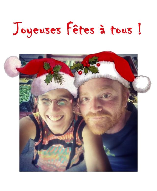 Mathias & Karine vous souhaitent de joyeuses fêtes !