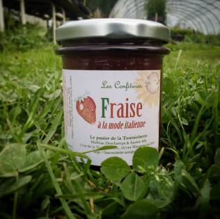 confiture fraise italienne