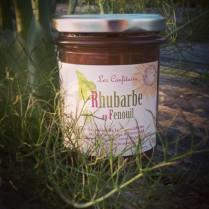 Confiture de rhubarbe au fenouil : une note anisée dans une confiture acidulée, pour un petit-déjeuner gourmand ou pour accompagner une viande blanche ou une charcuterie, comme un confit)