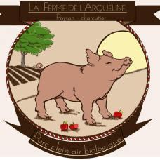 La ferme de l'Arqueline : Paysan-Charcutier - Porc biologique de plein air [logo]