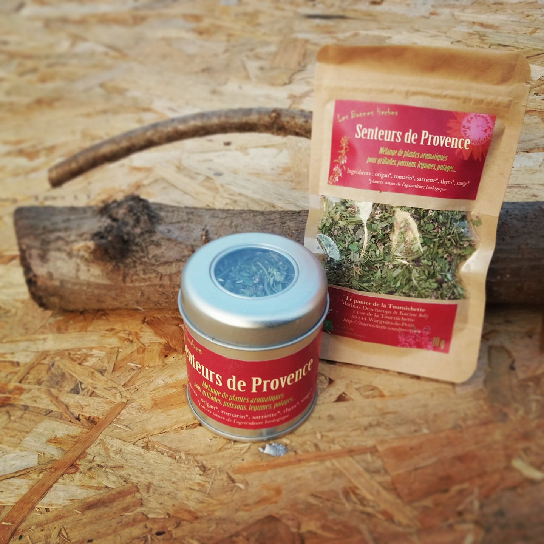 Mélange d'herbes provençales