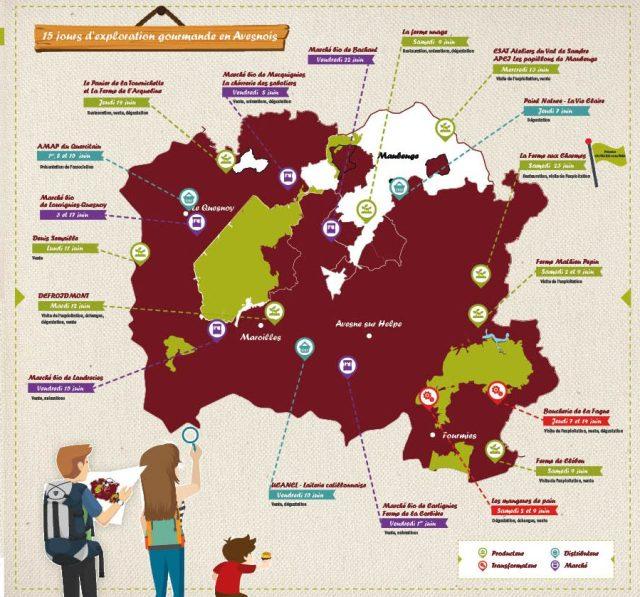Printemps bio : 15 jours d'exploration gourmande en Avesnois